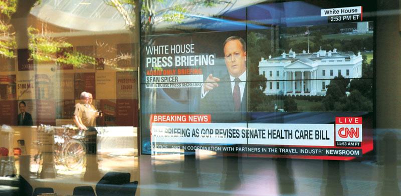 חדשות בcnn / צילום: רויטרס, Brian Snyder