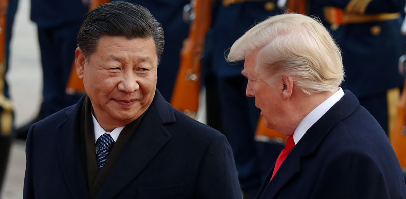 US and China presidents Photo: Reuters Damir Sagolj