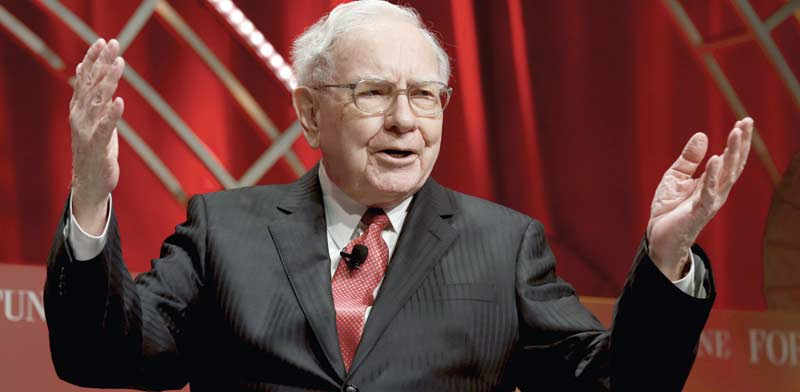 Warren Buffett Photo: Reuters Kevin Lamarque