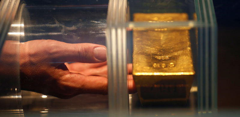 תערוכת הזהב של הבונדסבנק / Ralph Orlowski – רויטרס