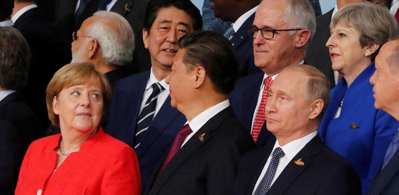 פסגת G20, ב-2017 בהמבורג / צילום: רויטרס  Wolfgang Rattay