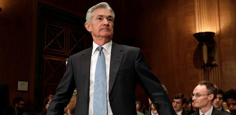 """ג'רום פאואל, יו""""ר הפדרל ריזרב, הבנק המרכזי של ארה""""ב / צילום: רויטרס"""