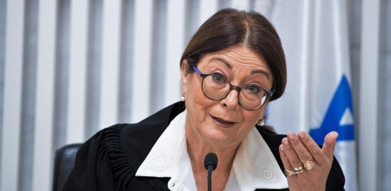 נשיאת בית המשפט העליון, השופטת אסתר חיות / צילום: יונתן זינדל