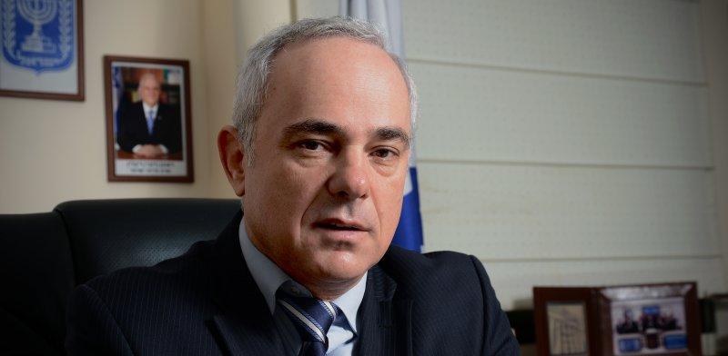 """שר האנרגיה, ד""""ר יובל שטייניץ / צילום: איל יצהר"""