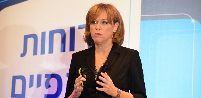 """מנכ""""לית בנק לאומי, רקפת רוסק-עמינח / צילום: תמר מצפי"""