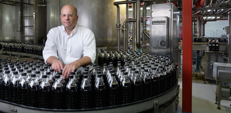 """מנכ""""ל החברה המרכזית למשקאות, יורם שגיא / צילום: יונתן בלום"""