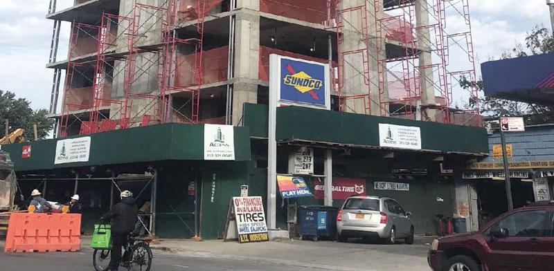 פרויקט של ברוקלנד בשדרות אטלנטיק בברוקלין / צילום: מצגת החברה