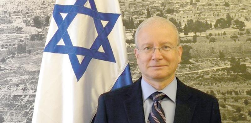 Aharon Leshno-Yaar Photo: Foreign Ministry