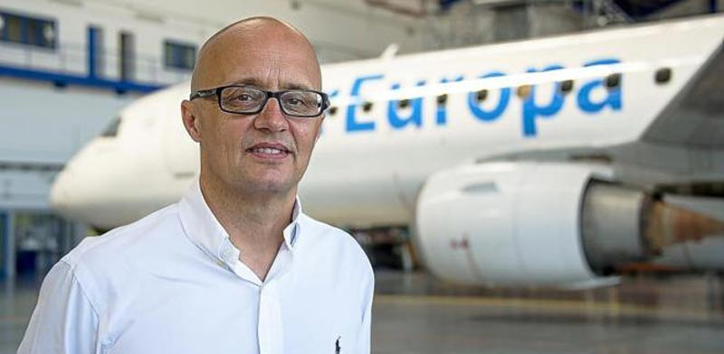 """ריצ'ארד קלארק סמנכ""""ל חברת התעופה אייר אירופה"""