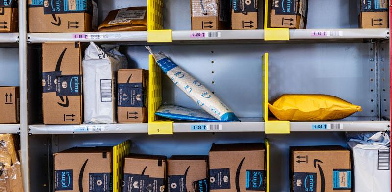 חבילות של אמזון /  צילום: Shutterstock
