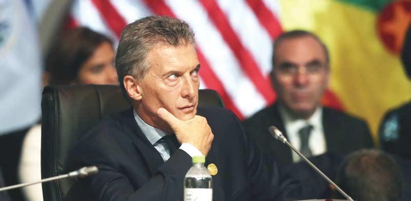 נשיא ארגנטינה, מאוריסיו מאקרי / צילום: רויטרס, Andres Stapff