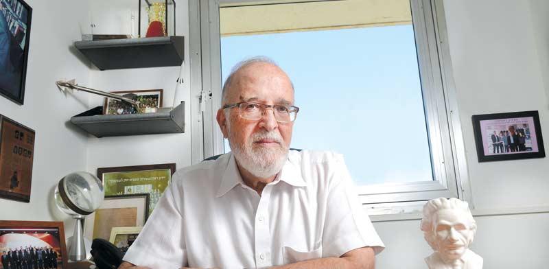 Prof. Isaac Ben-Israel Photo: Eyal Izhar