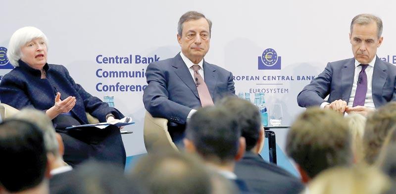 נגידי הבנקים המרכזיים בעולם / צילום: רויטרס, Kai Pfaffenbach