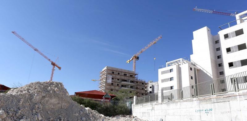 תנופת בנייה / צילום: איל פישר