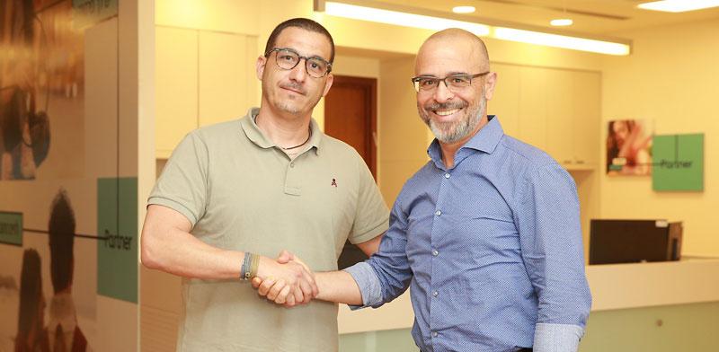 איציק בנבנישתי ושגיא קופרפיש /  צילום: ישראל שם טוב