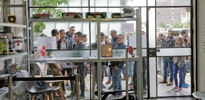 """שגרירות הביטקויון בת""""א / צילום: שגרירות הביטקוין"""