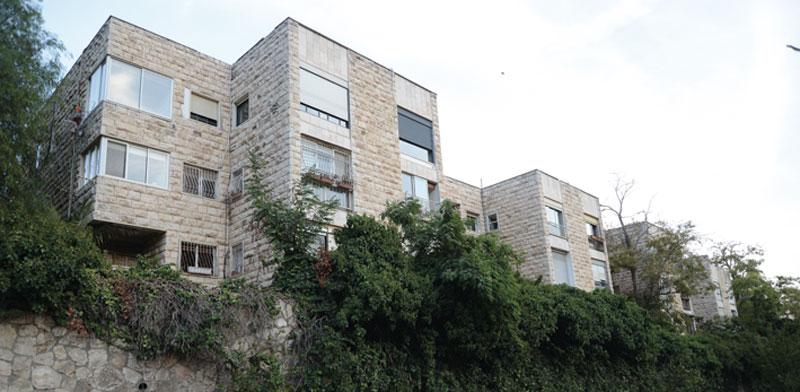 רחוב יהודה בורלא בשכונת ניות בירושלים / צילום: איל יצהר