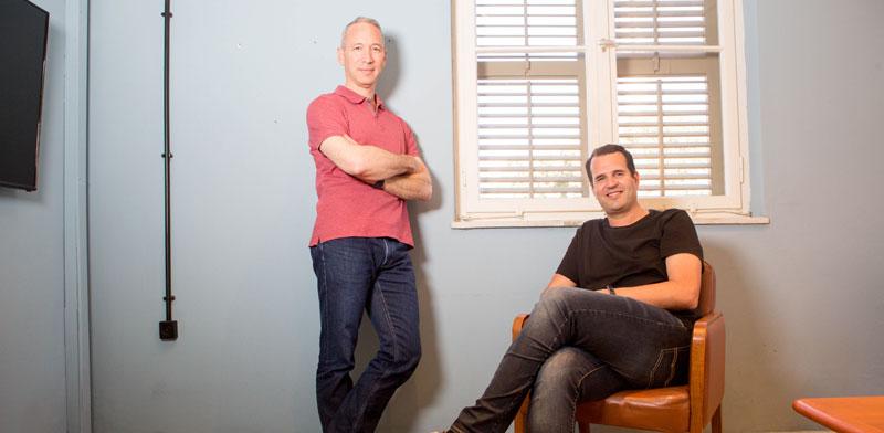 מייסדי למונייד, שי וינינגר ודניאל שרייבר /  צילום: שלומי יוסף