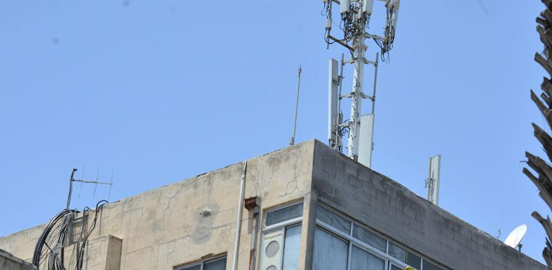אנטנה סלולרית / צילום: תמר מצפי
