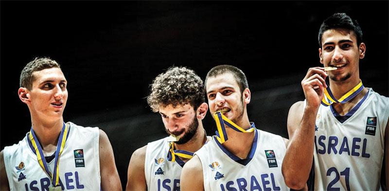 נבחרת ישראל עד גיל 20 / צילום: FIBA