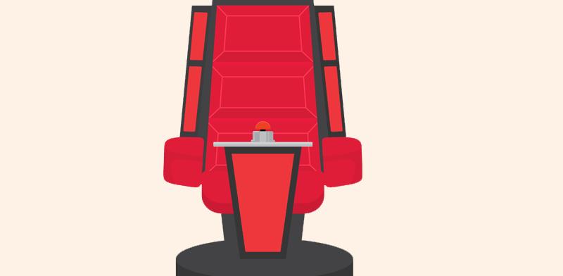 .The Voice הכיסא של GapJumpers למייסדי / איור : Shutterstock : א.ס.א.פ קרייטיב