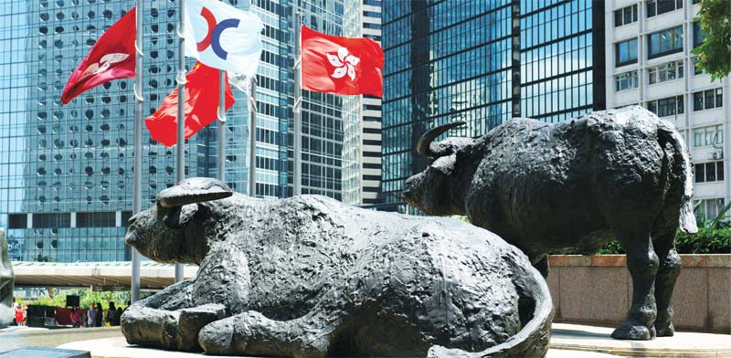 בורסת הונג קונג / צילום: Shutterstock