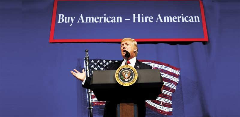 הנשיא טראמפ/ צילום: רויטרס Kevin Lamarque