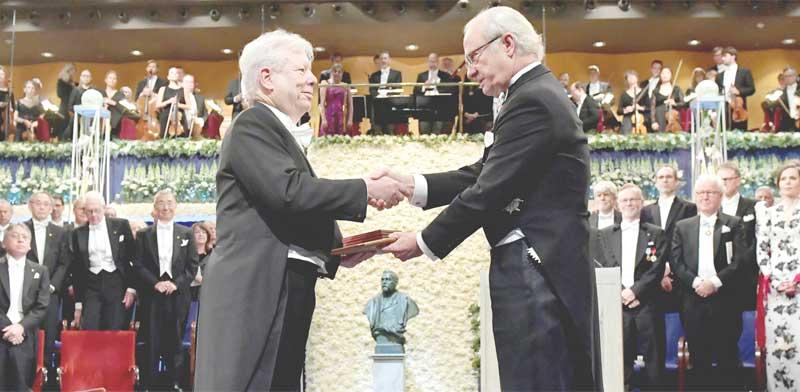 ריצ'רד ת'אלר, זוכה פרס נובל לכלכלה 2017 / צילום: 2017