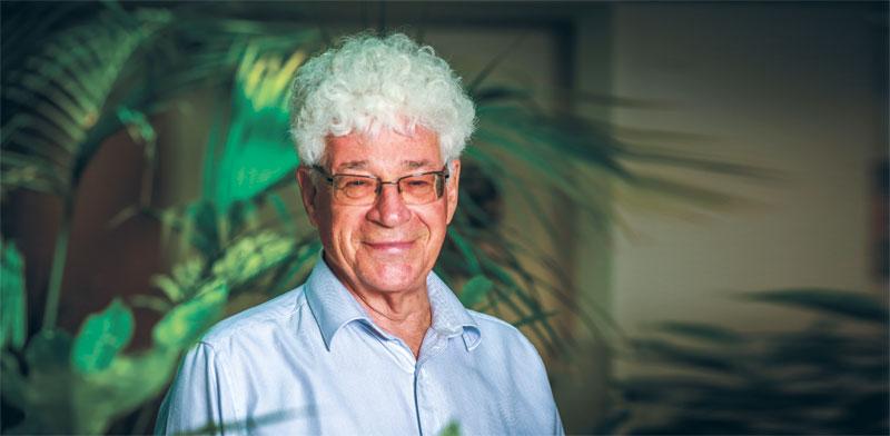 פרופ' אלי פיינרמן, מנהל מכון וולקני / צילום: שלומי יוסף