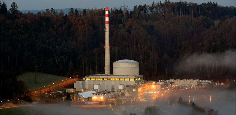 Nuclear reactor near Berne Photo: Reuters