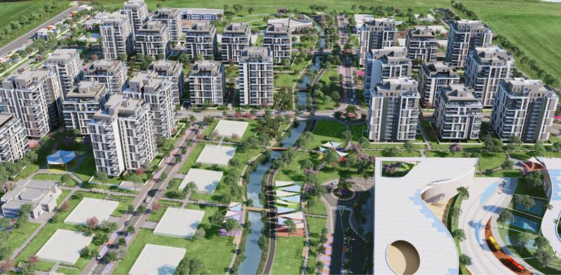 הדמיית פרויקט בית בפארק באור יהודה. קפיצה בשיעורי מכירת הדירות /  הדמיה: Viewpoint