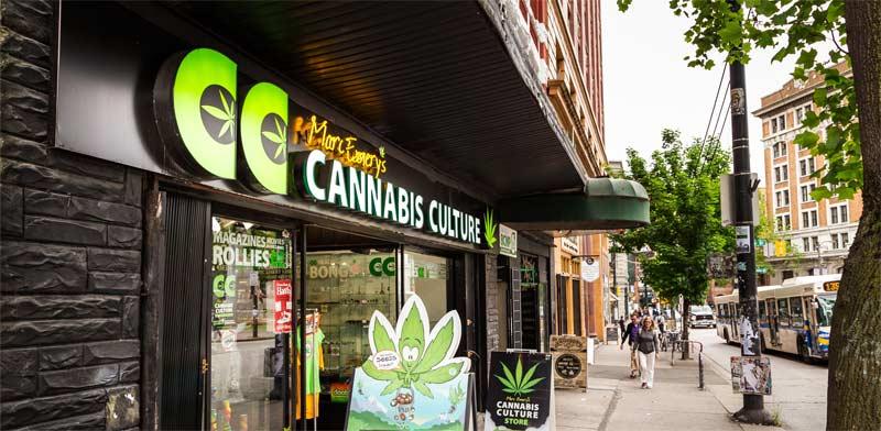 חנות קנאביס בקנדה / צילום:  Shutterstock / א.ס.א.פ קרייטיב