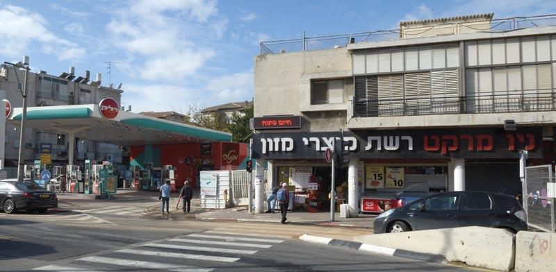 תחנת דלק ברמת גן/ צילום: איל יצהר