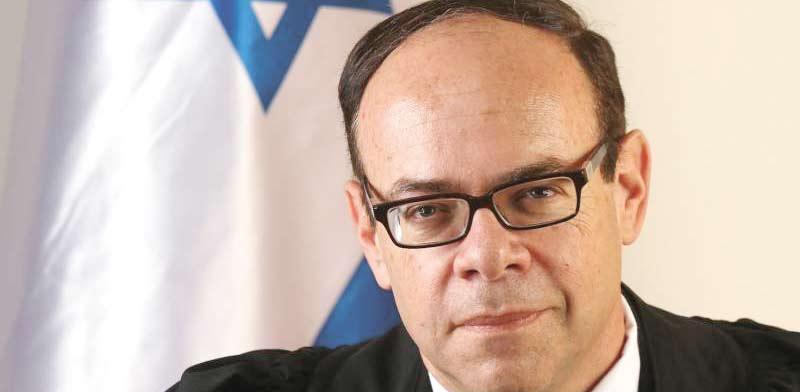 השופט שמואל בורנשטין / צילום: יוסי זמיר