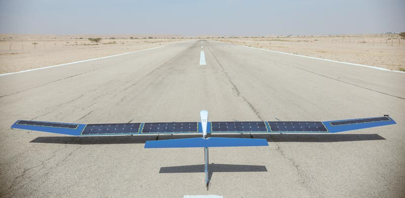 Solar energy drone prototype Photo: PR