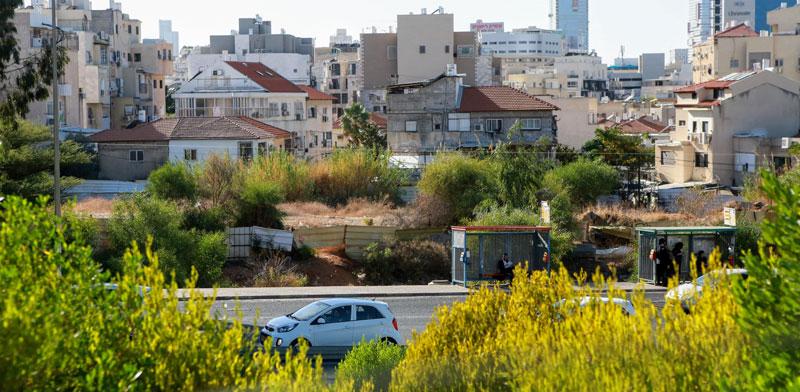 המגרש המדובר של אזורים בבני ברק/ צילום: שלומי יוסף