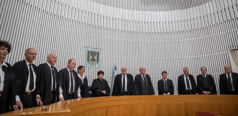 שופטי העליון / צילום:אתר בתי המשפט