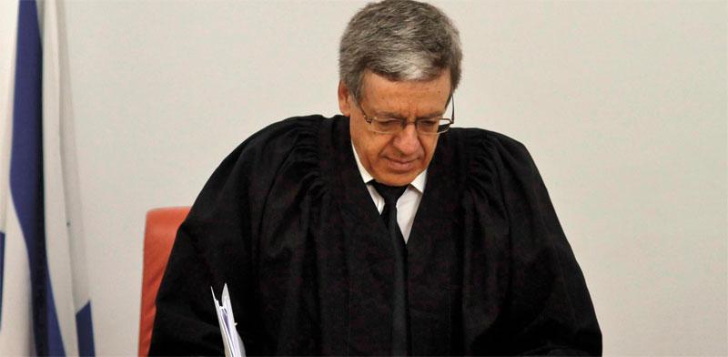 השופט מני מזוז / צילום: אוריה תדמור