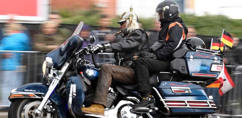 אופנוע גדול של הארלי דיווידסון / צילום: רויטרס, Fabian Bimmer