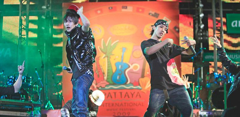 זמרי ראפ בתאילנד./ צילום: רויטרס Sukree Sukplang