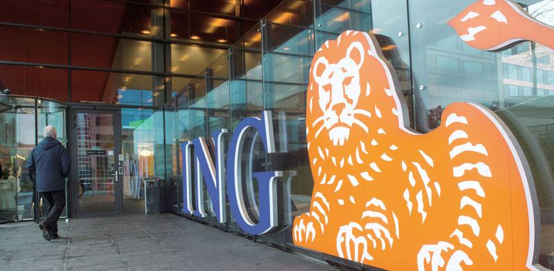 משרדי בנק ING באמסטרדם / צילום: רויטרס  Yves Herman