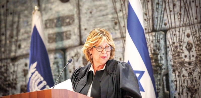 נשיאת בית הדין הארצי לעבודה, השופטת ורדה וירט-לבנה / צילום: שלומי יוסף