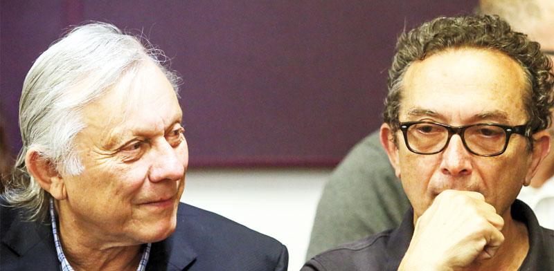 יעקב  ומיכה הוניגמן./ צילום: שלומי יוסף