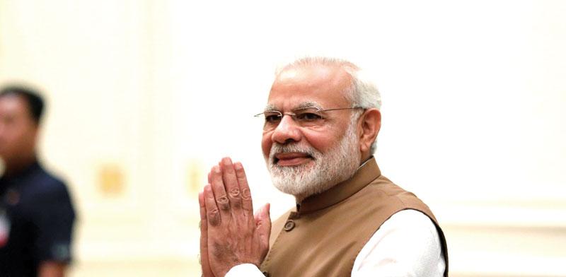 ראש ממשלת הודו נרנדרה מודי / צילום: רויטרס, Soe Zeya Tun