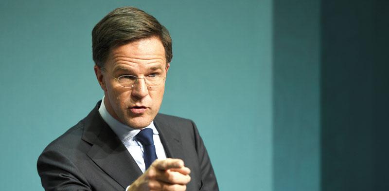 מארק רוטה ראש ממשלת הולנד / צילום: רויטרס