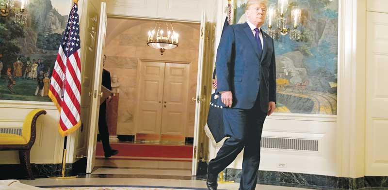 הנשיא דונלד טראמפ  / צילום: רויטרס