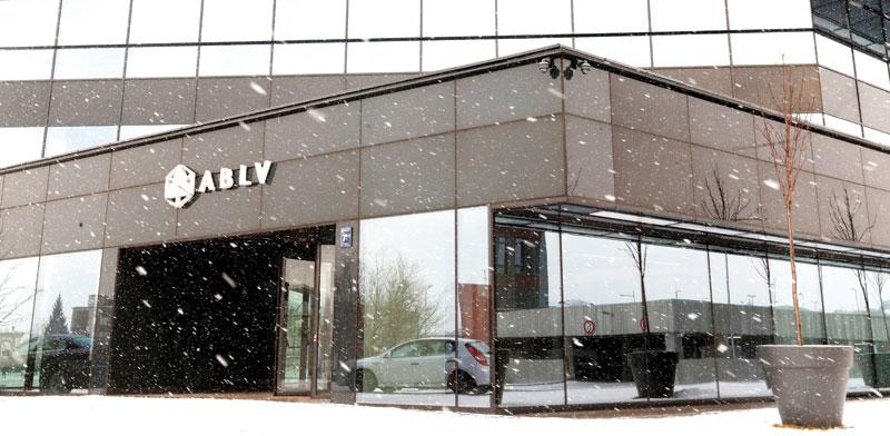 מטה הבנק ABLV Q בריגה / צילום: רויטרס