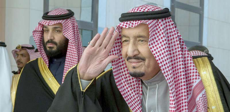 המלך סלמאן ובנו הנסיך מוחמד / צילום: רויטרס