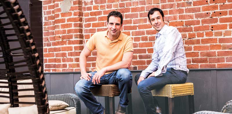 Twistlock founders Ben Bernstein and Dima Stopel Photo: PR