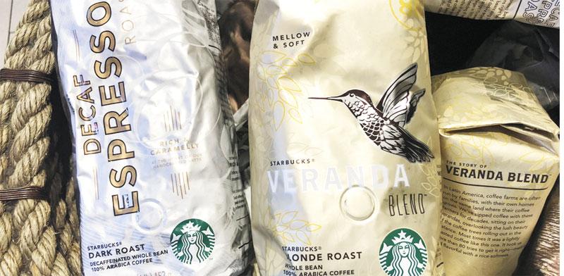 קפה ארוז של סטארבקס / צילום: רויטרס